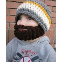 Dětská čepice s vousy