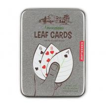 Hráčské karty ve tvaru listů